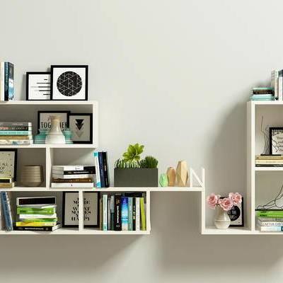 书架, 书, 书籍, 现代, 陈设品, 摆件, 摆设