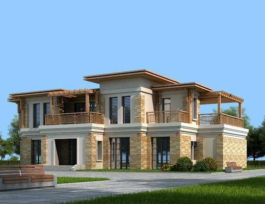 现代别墅, 别墅建筑