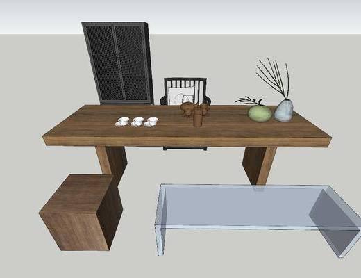 桌椅组合, 摆件组合