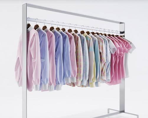 衣服, 服装, 服饰, 衣架, 北欧