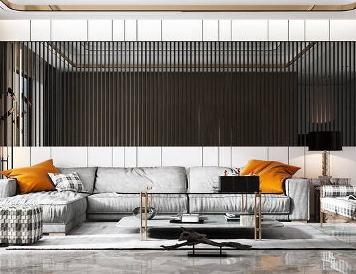 沙发组合, 现代沙发组合, 沙发茶几组合