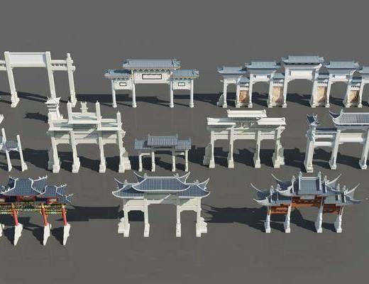 中式牌坊, 牌楼