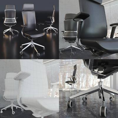 皮革, 办公椅, 现代皮革办公椅, 现代