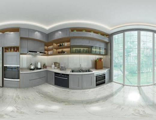 櫥柜, 家裝全景, 廚房組合, 櫥柜組合, 廚具組合, 洗手臺組合, 現代