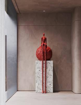 雕塑, 摆件, 艺术品