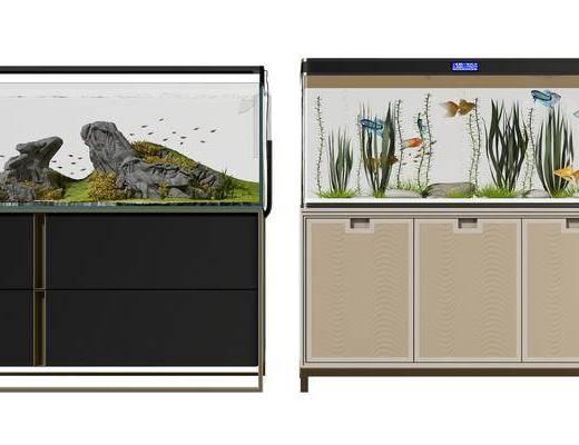 現代魚缸, 水族箱