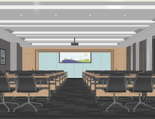 会议室, 单人椅, 桌子, 装饰画, 挂画, 现代千亿国际app|娱乐网站