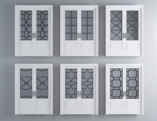 烤漆房门, 双开门, 现代