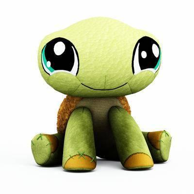 乌龟, 玩具, 玩偶, 布偶