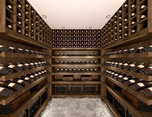 现代, 酒柜, 酒窖