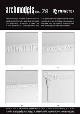构件, 石膏件, 围栏, Evermotion, Archmodels, 楼梯