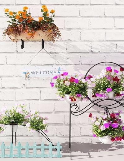 盆栽, 植物, 花卉, 花架