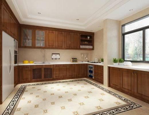 厨房组合, 橱柜, 整体厨房