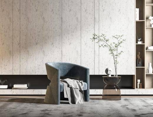 现代, 休闲椅, 组合