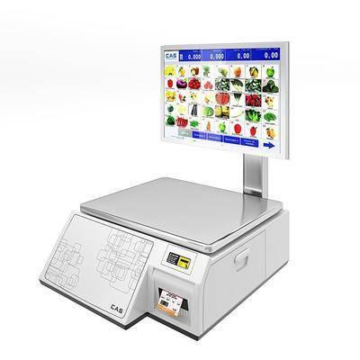 现代超市收银机, 电子秤