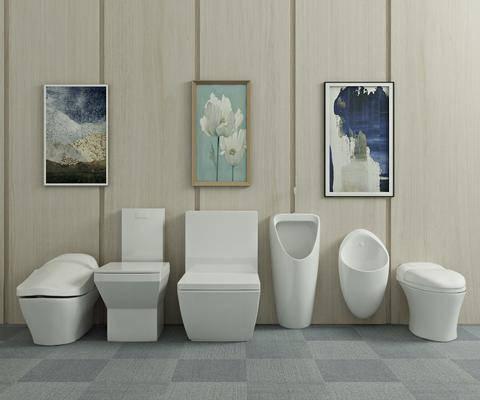 小便器, 坐便器, 马桶, 卫浴, 尿斗, 小便斗, 装饰画, 挂画, 现代
