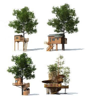 现代木屋, 木屋, 景观