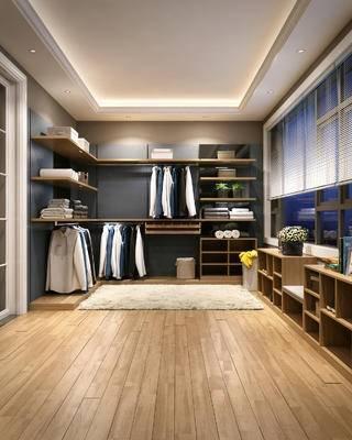 衣帽间, 地毯, 陈设, 沙发凳