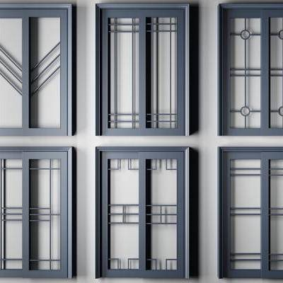 推拉门, 门, 门构件, 烤漆门, 新中式, 现代