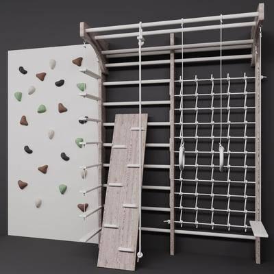现代, 攀岩墙, 组合