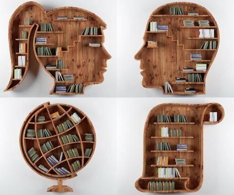 北欧书架, 书架, 造型书架