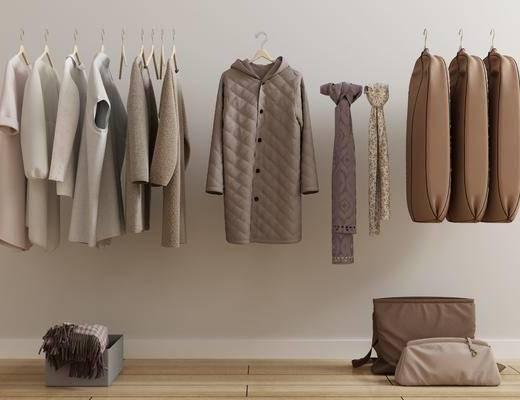衣服外套, 女装衣架, 现代