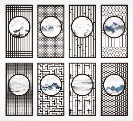 新中式屏风, 隔屏