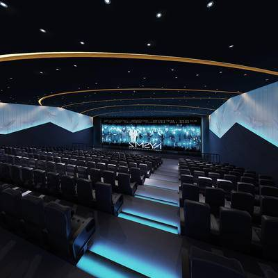 电影院, 座椅, 屏幕