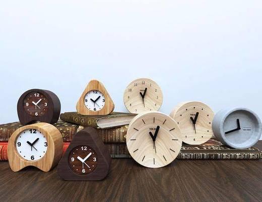 现代钟表, 时钟, 闹钟, 摆件, 现代