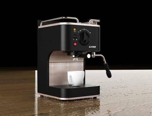 咖啡机, 电器, 厨具