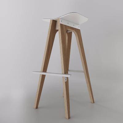 椅凳, 高款板凳, 吧椅, 单人椅, 现代