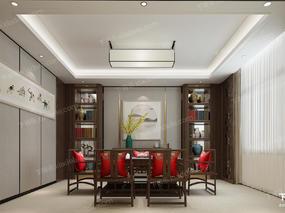 茶室, 茶具, 中式, 椅子, 桌椅组合, 装饰画