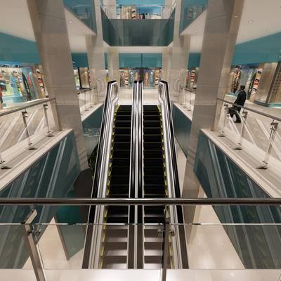 电梯, 扶梯