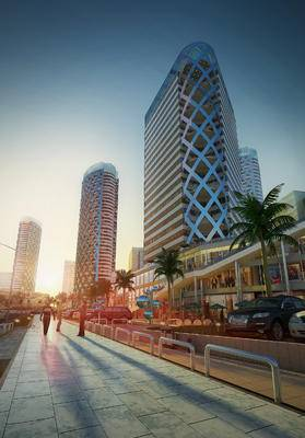 户外商业建筑, 户外建筑, 建筑, 现代建筑, 现代