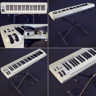 现代电子琴, 乐器, 现代, 电子琴