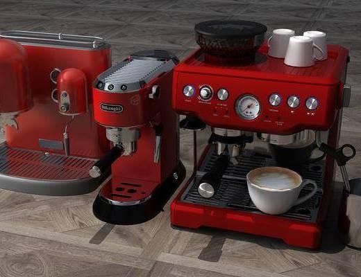 咖啡機, 廚具組合, 現代