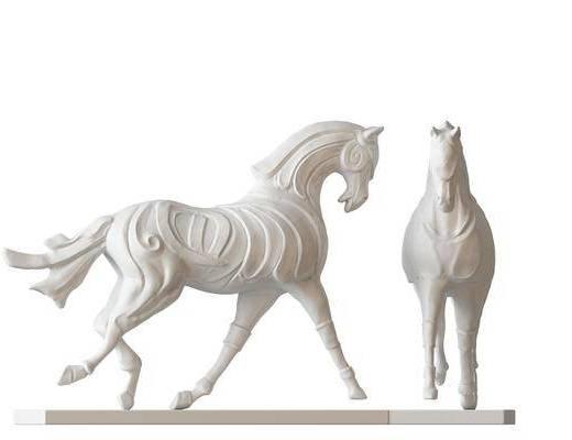 摆件, 马, 现代