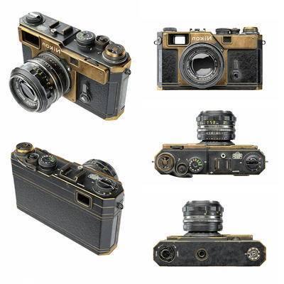 相机, 复古相机, 现代, 复古