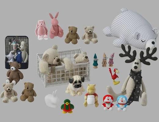 儿童玩具, 玩偶, 北欧