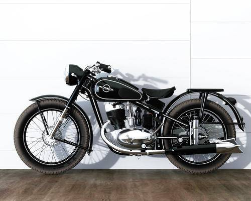摩托车, 机动车