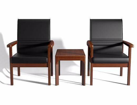 新中式, 办公椅, 单椅
