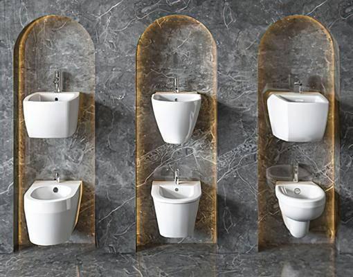现代洗面盆, 洗手盆, 洗手台