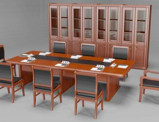 现代, 会议桌椅, 组合