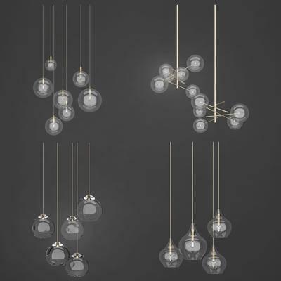 灯具组合, 灯, 灯具, 吊灯