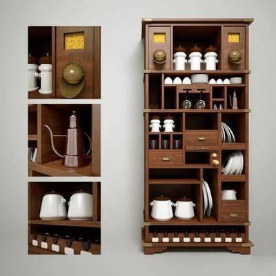 餐具, 餐柜, 现代