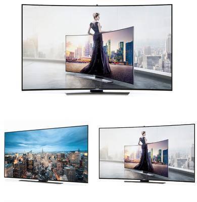 电视机, 电视, 现代, 家电
