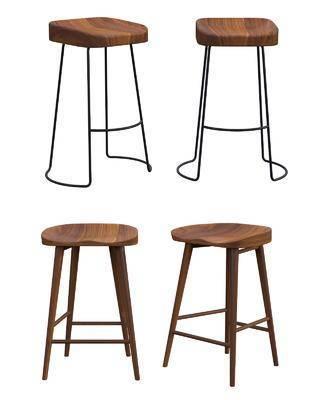 吧椅, ?#30340;?#21543;椅, 单人椅, 北欧