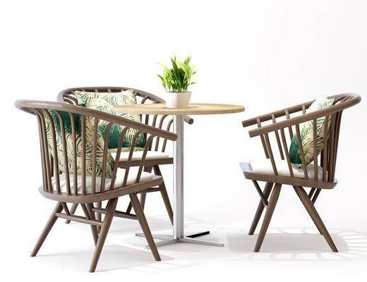 餐桌, 户外椅, 藤椅, 单椅, 休闲椅