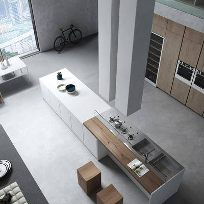 餐廳廚房, 桌椅組合, 書柜組合, 洗手臺組合, 現代