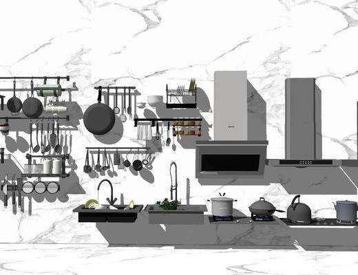 厨房用品, 电器, 厨具组合